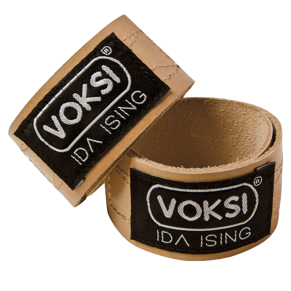 Ida Ising Leather Stroller Straps