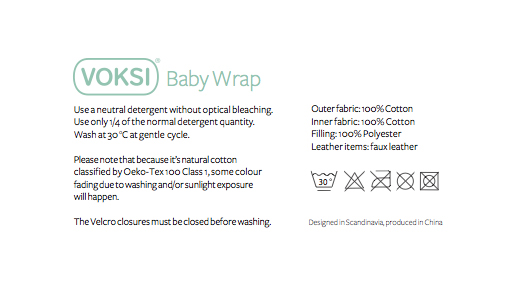 New Voksi 174 Baby Wrap The Baby Blanket That Protects