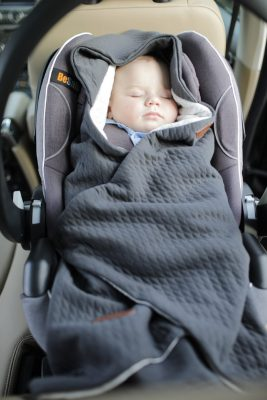 Voksi® Baby Wrap - baby blanket for your child's safety