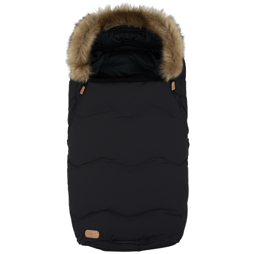 voksi urban black fake fur