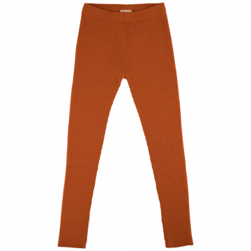 Voksi Rib Pants warm orange