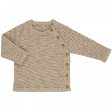voksi wool honeycomb sweater
